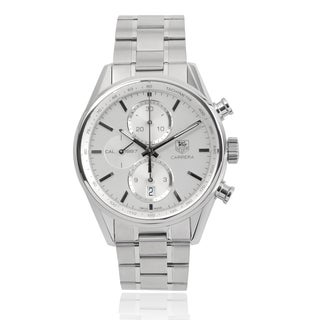 Tag Heuer Men's 'Carrera' CAR2111-BA0720 Stainless Steel Automatic Link Watch
