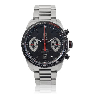 Tag Heuer Men's 'Carrera' CAV511C-BA0904 Stainless Steel Link Watch