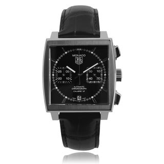 Tag Heuer Men's 'Monaco Calibre' CAW2110-FC6177 Link Watch
