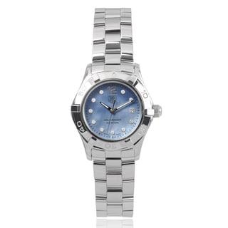 Tag Heuer 'Aquaracer' 1/8 TCW WAF1419-BA0824 Stainless Steel Link Watch