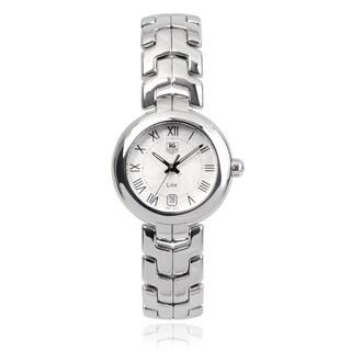 Tag Heuer WAT1314-BA0956 Stainless Steel Roman Numeral Link Watch