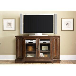 Liberty 'Jamestown' Breakfront Style Cognac TV Console
