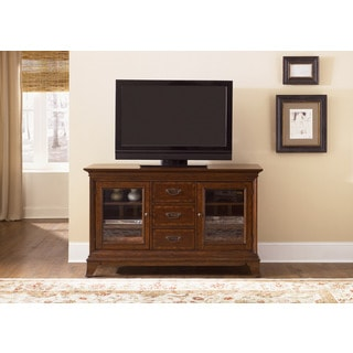 Liberty Ballentine Bronze Cherry TV Console