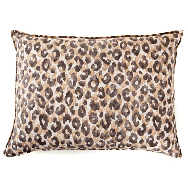 Leopard Brown Decorative Pillow