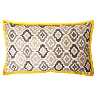 Jiti Mineral Taupe Long Decorative Pillow