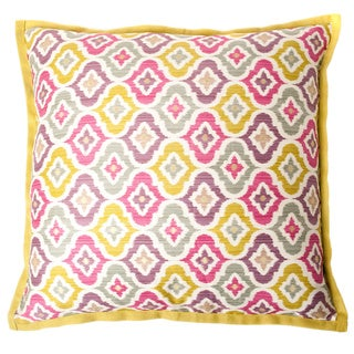 Mineral Multi-colored Square Decorative Pillow