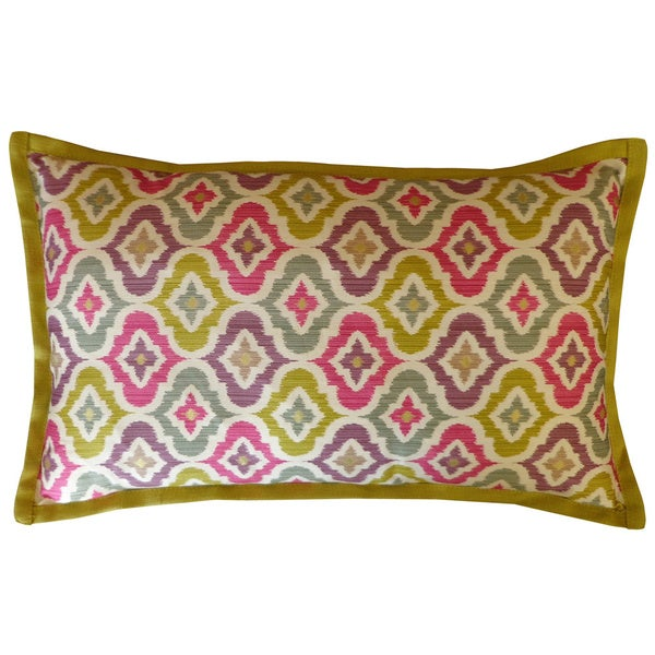 Jiti Mineral Multi-colored Long Decorative Pillow