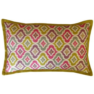 Jiti Mineral Multi-colored Long Decorative Pillow