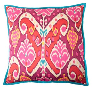 Pink Marvel Square Decorative Pillow