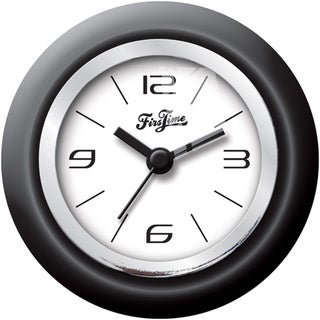FirsTime Black Magnetic Wall Clock