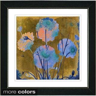 Studio Works Modern 'Fugue Floral' Framed Fine Art Print