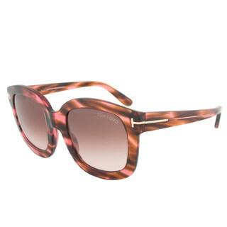 Tom Ford Women's TF0279 Christophe Rectangular Sunglasses