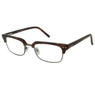 V Optique Men's Leonardo Rectangular Reading Glasses