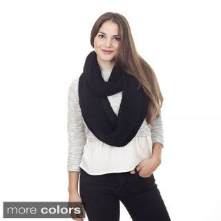 Knitted Design Infinity Scarf