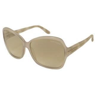 Tom Ford Women's TF0229 Nicola Rectangular Sunglasses