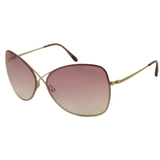 Tom Ford Women's TF0250 Colette Oversize Sunglasses