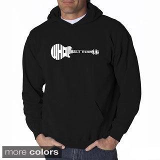 LA Pop Art Men's 'Whole Lotta Love' Hooded Sweatshirt