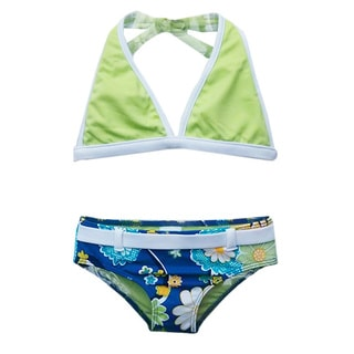 Azul Swimwear Girls' Nod to Mod Bikini