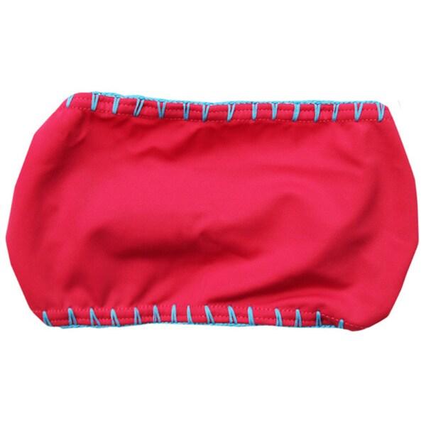 Azul Swimwear Girls' Pink Hippie Hippie Shake Headband