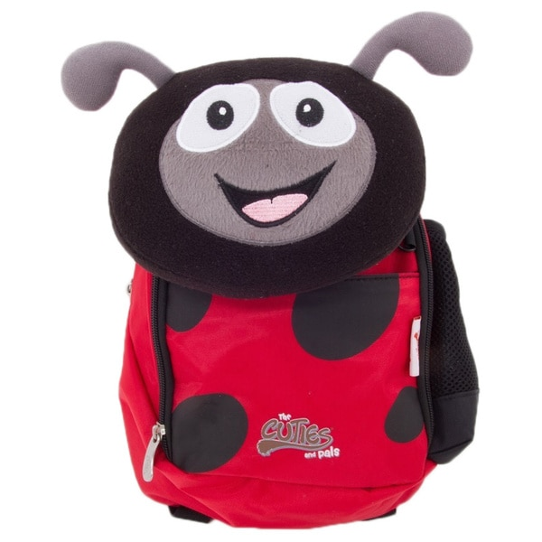 Cuties and Pals Polka Ladybug Kids Soft Backpack