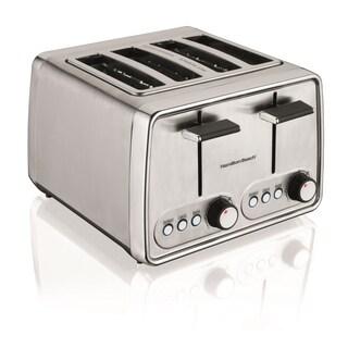 Hamilton Beach 24791 Modern Chrome 4-slice Toaster