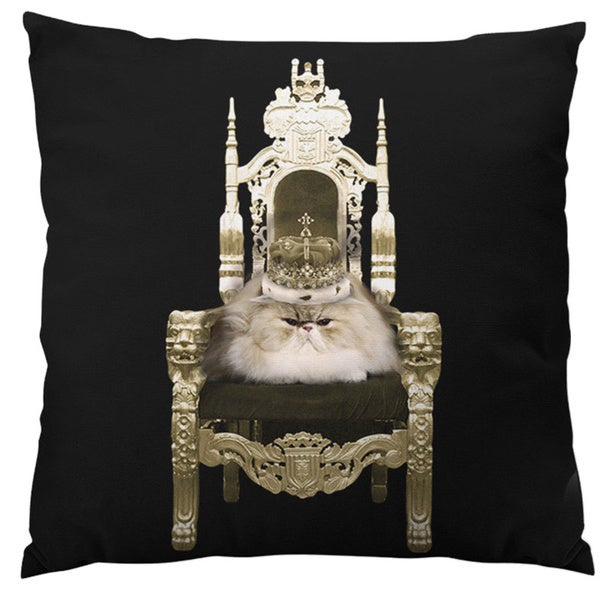 Persian Queen Throw Pillow