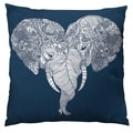 Punch Trunk Love Throw Pillow