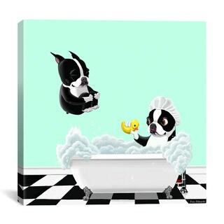 iCanvas Brian Rubenacker 'Bath Tub BT' Canvas Print Wall Art