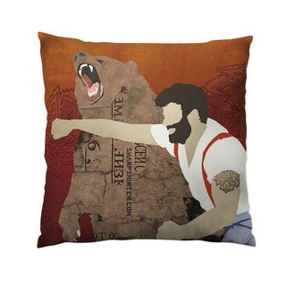 Haymaker Throw Pillow