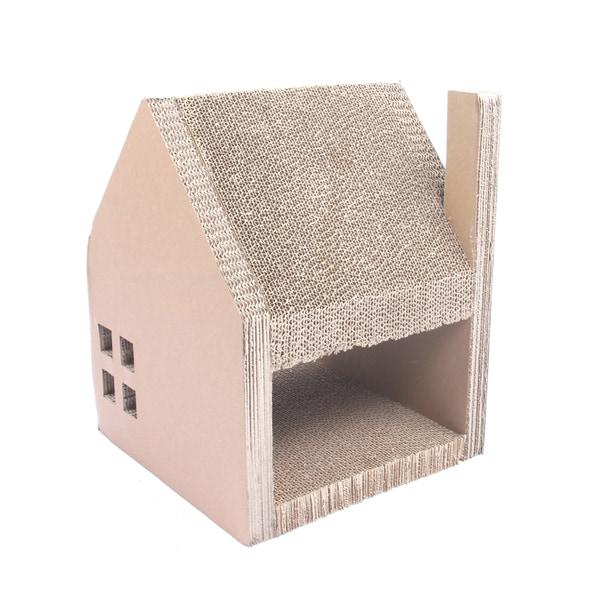 Corrugated Cardboard Cat House