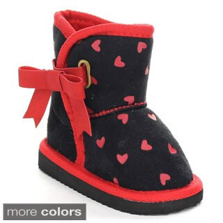 Rck Bella Polo-10 Infant Baby Girl's Lovely Snow Boots