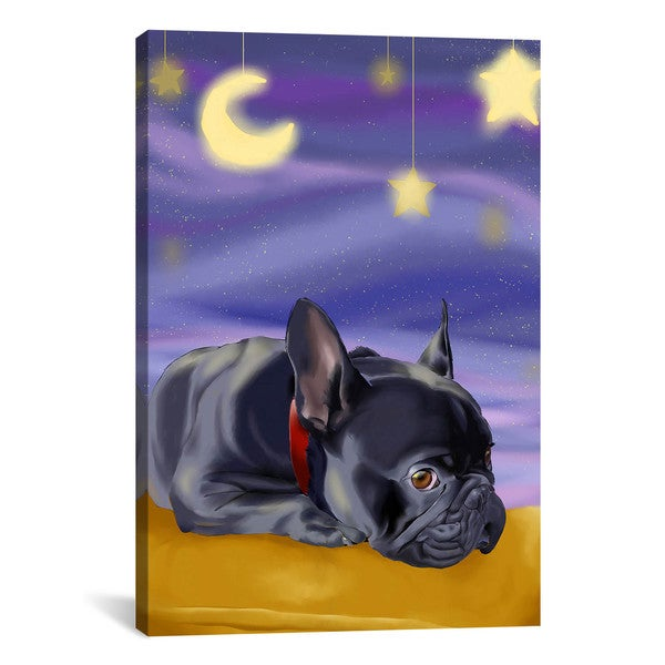 iCanvas Brian Rubenacker French Sleep Canvas Print Wall Art