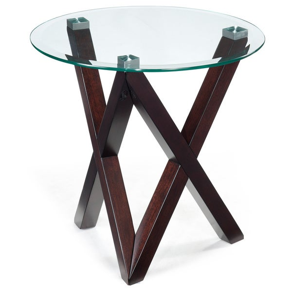 Magnussen Visio Round End Table