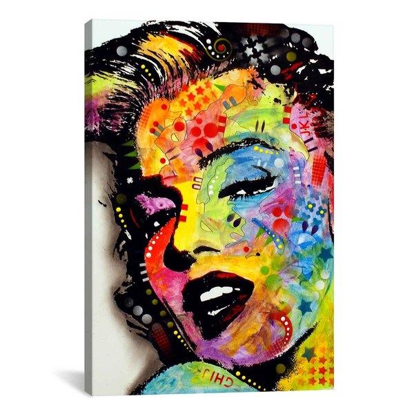 iCanvas Dean Russo Marilyn Monroe II Canvas Print Wall Art