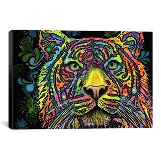 iCanvas Dean Russo Tiger Canvas Print Wall Art