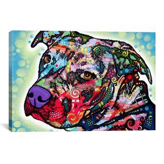 iCanvas Dean Russo Bulls Eye Canvas Print Wall Art