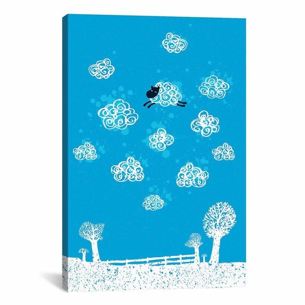 iCanvas Budi Satria Kwan Just Like a Cloud Canvas Print Wall Art