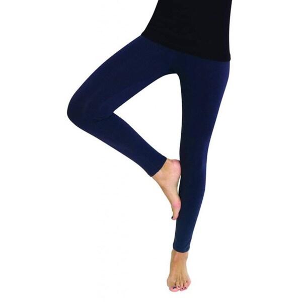 MeMoi Women's Cotton High Waist Pajama Yoga Leggings