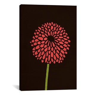 iCanvas Budi Satria Kwan Still Life With Single Chrysanthemums Canvas Print Wall Art