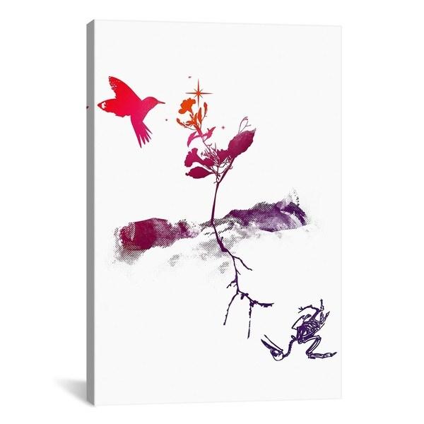 iCanvas Budi Satria Kwan Two Worlds Canvas Print Wall Art