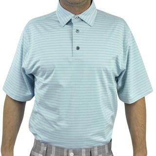 FootJoy Men's Lisle Pencil Stripe Golf Polo Shirt