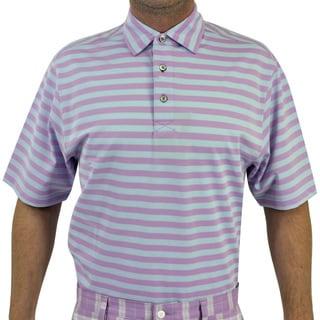 FootJoy Men's Stretch Pique Stripe Polo Shirt