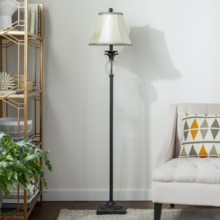 ABBYSON LIVING Alexandra Antiqued Bronze Pineapple Floor Lamp