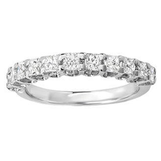 14k White Gold 1ct TDW Princess Diamond Anniversary Wedding Ring (H-I, I1-I2)
