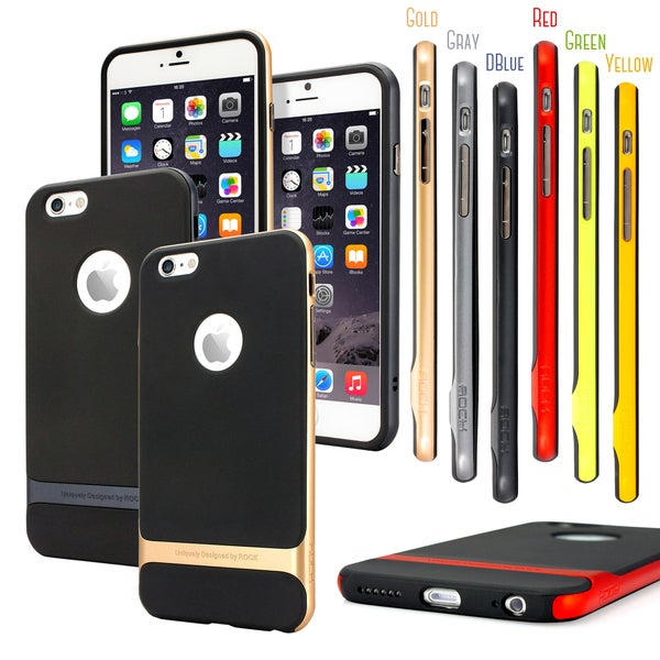 """Gearonic Hard Bumper Rubber Case Cover for Apple iPhone 6 Plus 5.5"""""""