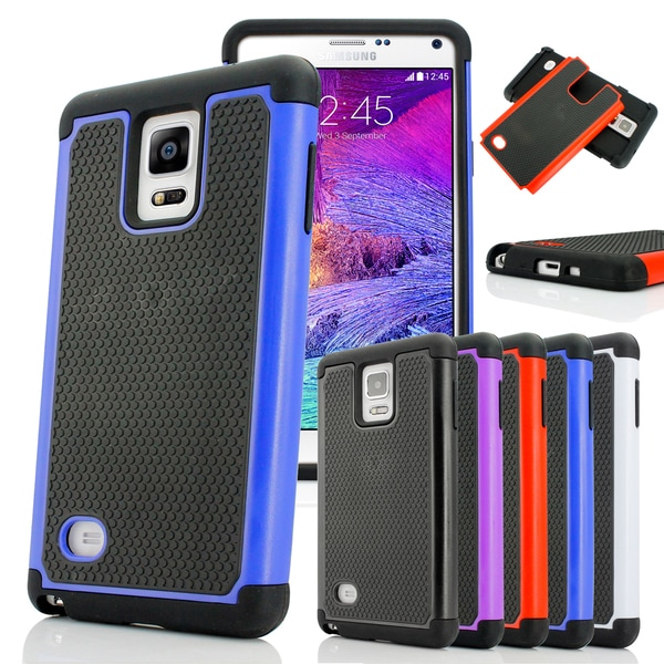 Gearonic PC Soft Silicone Back Case Cover For Samsung Galaxy Note 4 IV