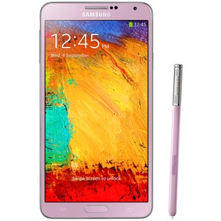 Samsung Galaxy Note 3 Pink 32GB SM-N900/N9000 Unlocked GSM Android Smartphone