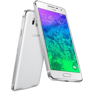 Samsung Galaxy Alpha SM-G850M 32GB White Unlocked GSM Android Smartphone