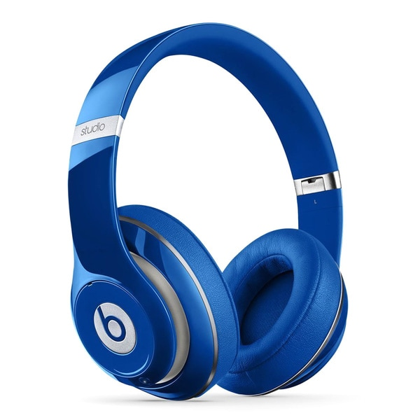 Beats by Dre Blue Studio 2.0 Over-Ear Headphones
