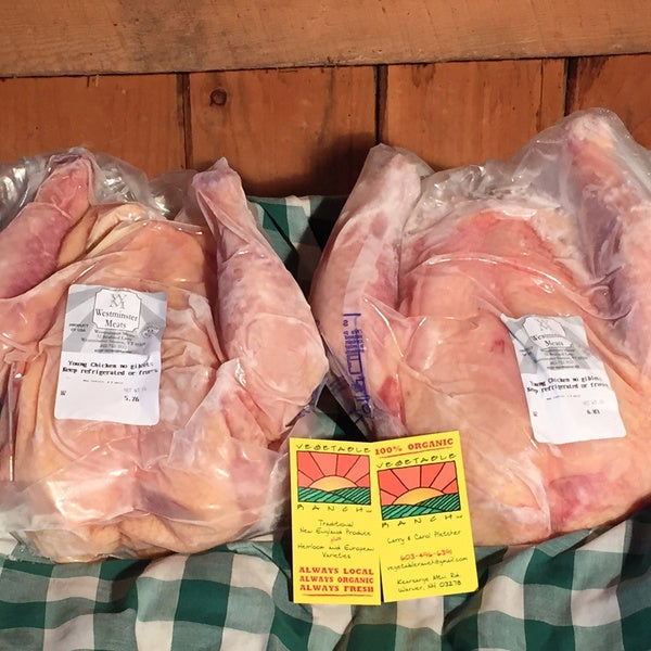 Vegetable Ranch 'Just Chicken' Whole Organic Chicken Bundle (Local Delivery)